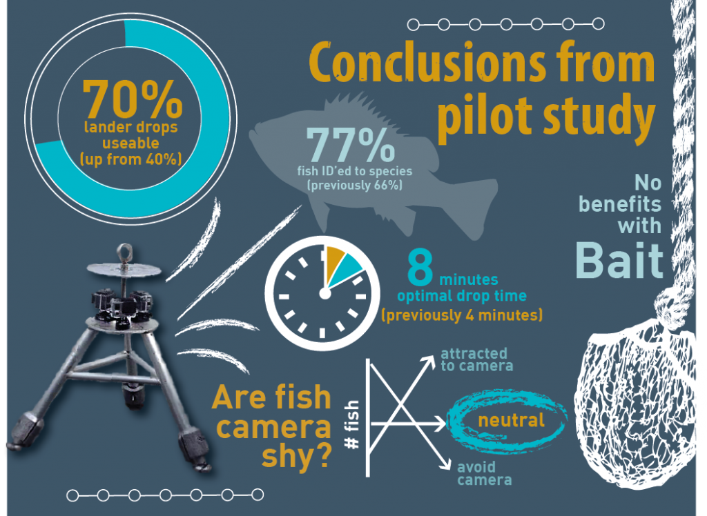 Results from the lander pilot study.