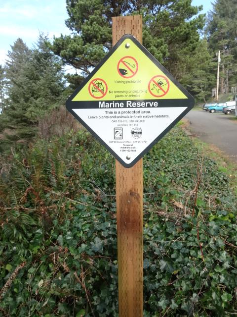 Enforcement Sign