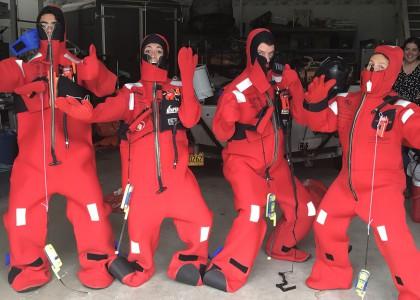 survival suit training